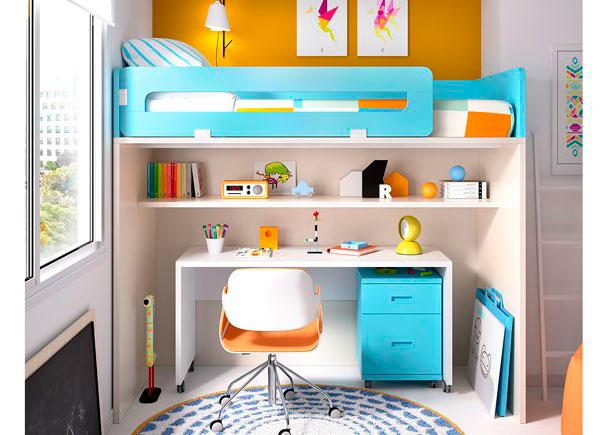 Habitaci n infantil con litera alta elmenut - Precio habitacion infantil ...