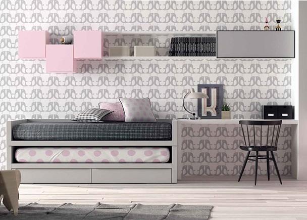 Habitaci n juvenil con 2 camas elmenut - Habitacion 2 camas ...