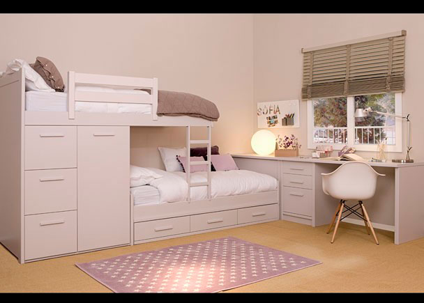 Habitaci n infantil de refinada linea colonial elmenut - Dormitorios juveniles cordoba ...