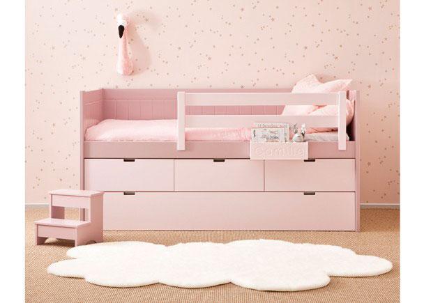 Nido block con friso y base somier arrastre 3 cajones elmenut - Somier con cama nido ...