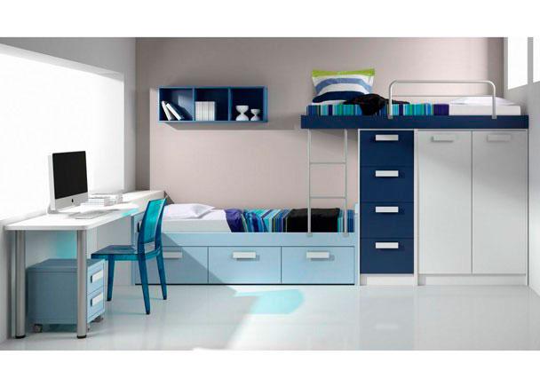 Habitacion infantil 528 212 elmenut - Cama nido economica ...