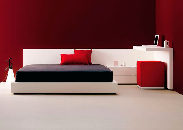 Habitaci n juvenil muy moderna con cama aro elmenut for Habitacion juvenil 2 camas
