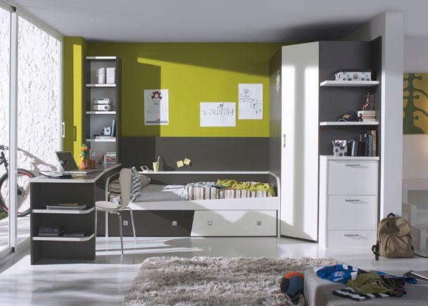Habitaci n infantil con armario rinc n de 219 alto elmenut for Armario habitacion infantil