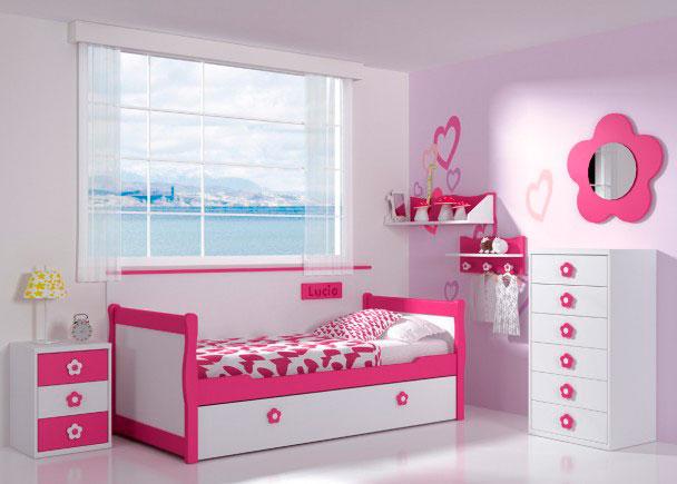 Dormitorio infantil 112m 332013 elmenut for Dormitorios bebe nina