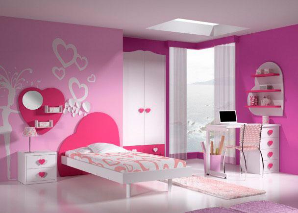 Habitaci n infantil 112m 322013 elmenut - Habitaciones infantiles romanticas ...