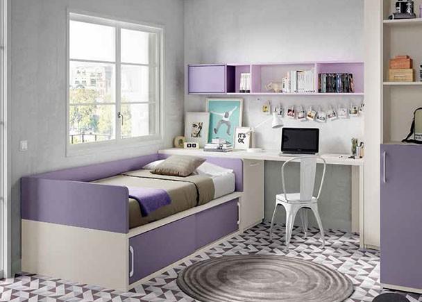 Habitaci n infantil con compacto y armario rinc n elmenut for Armario habitacion infantil