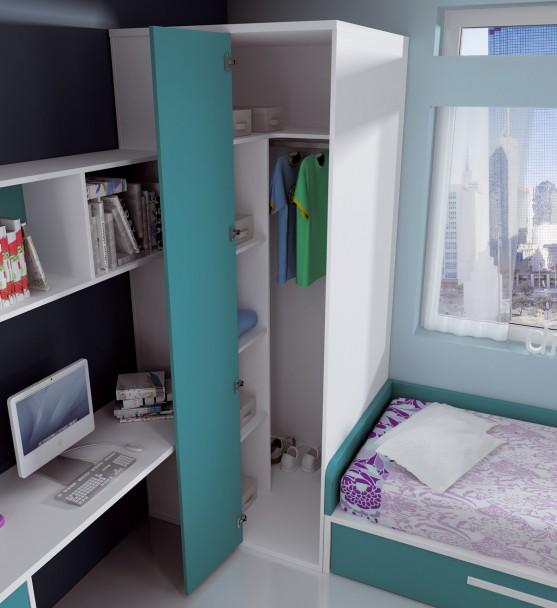 Dormitorio infantil 112m 112013 elmenut - Dormitorios infantiles malaga ...