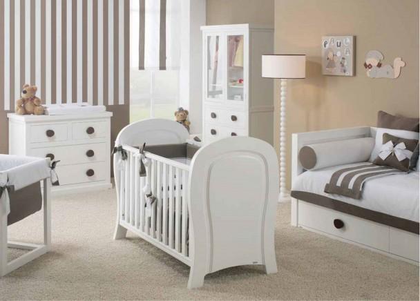 Dormitorio bebe con cuna 633 042013 elmenut - Modelo de cunas ...