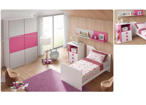 Dormitorio infantil con cuna convertible elmenut - Elmenut com ...