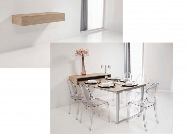 Mesa Extensible para Salón-Comedor. Elmenut