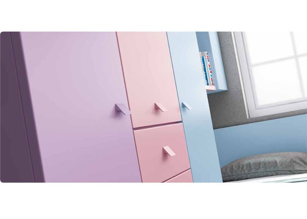 Armario Bebe Ideas ~ Dormitorio Infantil modular con Armario Elmenut