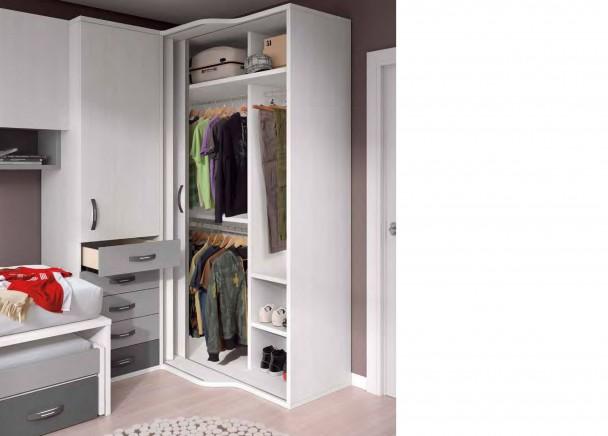 Dormitorio infantil 581 132013 elmenut - Armarios de rincon ...