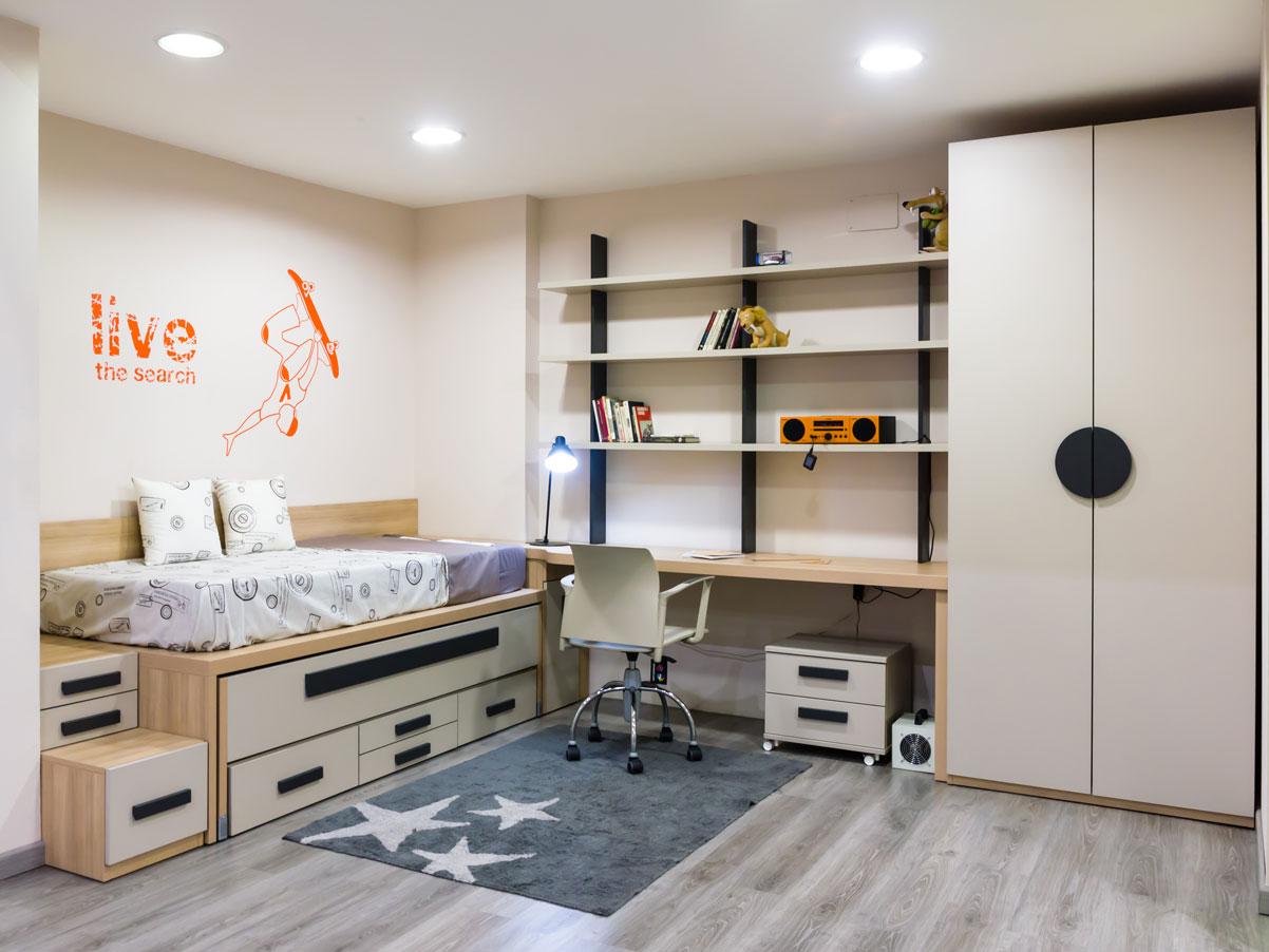 Exposici n de dormitorios juveniles y habitaciones infantiles - Elmenut com ...