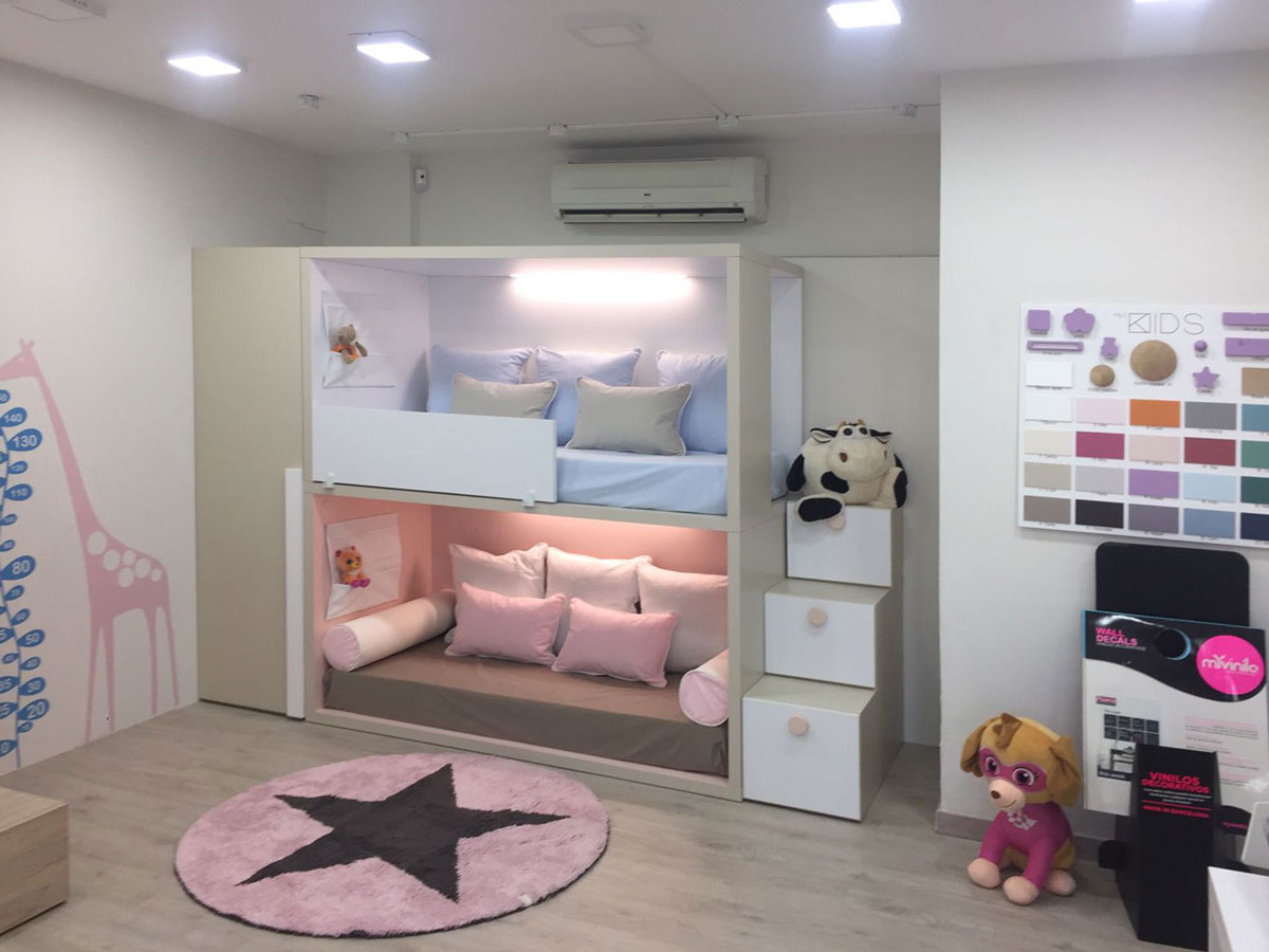 Exposici n de dormitorios juveniles y habitaciones infantiles for Modelos de habitaciones infantiles