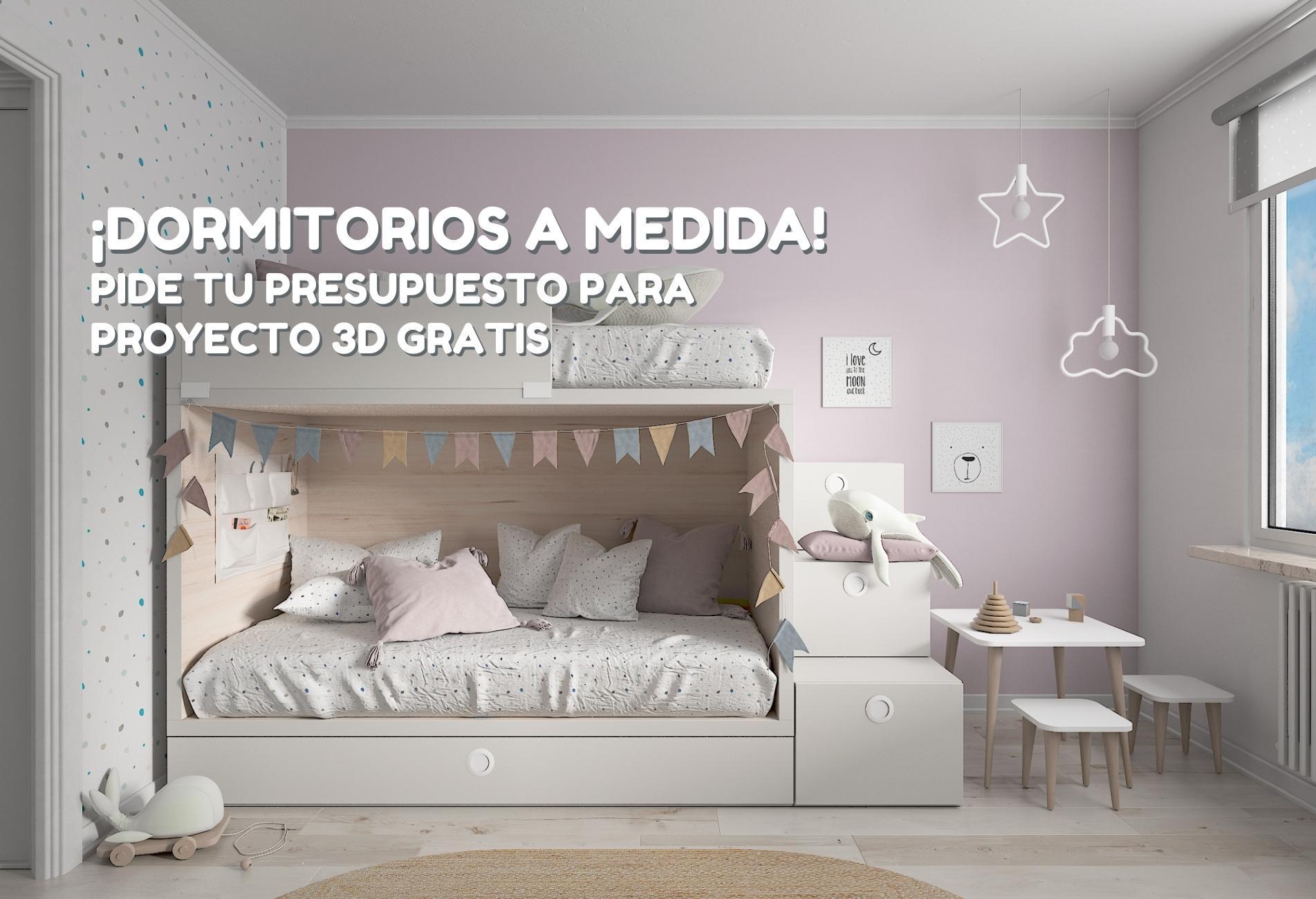 Tiendas físicas y online de dormitorios juveniles